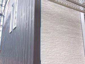 外壁施工の様子②