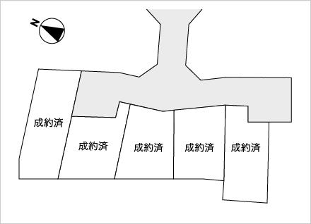 滋賀県大津市一里山4丁目 5区画(37.9坪)