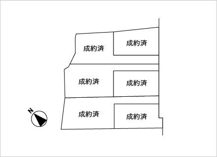 滋賀県草津市南山田町 6区画(約86.18坪)