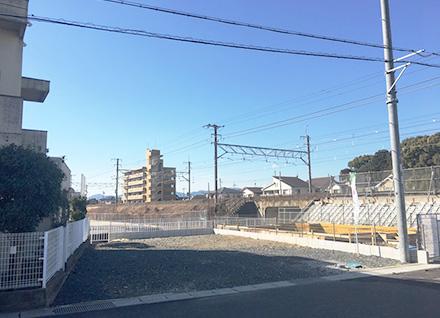 滋賀県草津市矢倉1丁目 2区画(約41.69坪) 写真