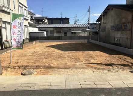 滋賀県栗東市十里(約41.02坪)