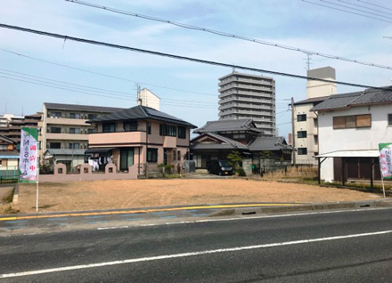 滋賀県野洲市小篠原 2区画(約45.74坪)