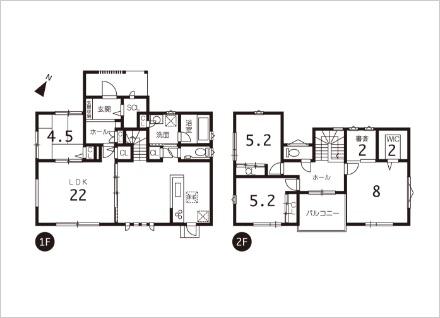 滋賀県大津市松が丘7丁目モデルハウス(4LDK) 建物情報