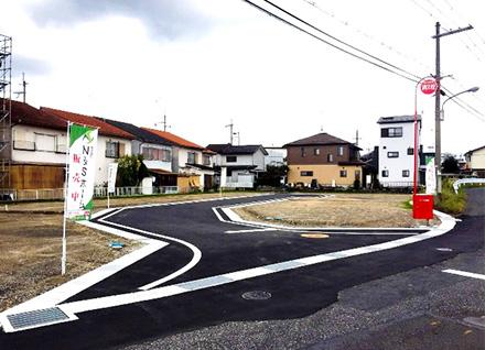 滋賀県野洲市栄 6区画(約47.64坪〜) 写真