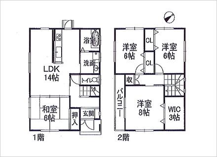 滋賀県草津市岡本町(4LDK) 建物情報