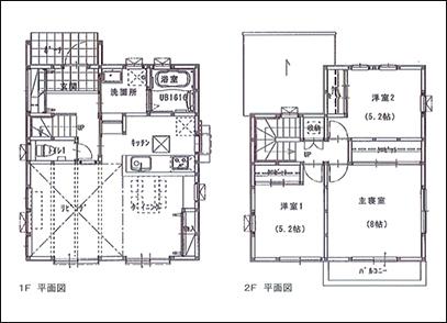 滋賀県草津市野路8丁目1号地モデルハウス(3LDK) 建物情報